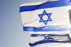 chorągwiany izraelita Fotografia Stock
