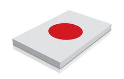 chorągwiany Japan Obrazy Royalty Free