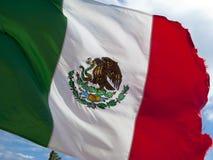 chorągwiany meksykanin Zdjęcie Stock