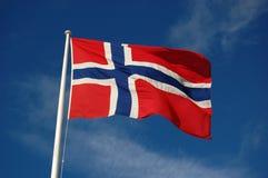 chorągwiany norweg Fotografia Stock