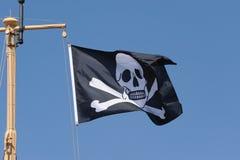 chorągwiany pirat Fotografia Royalty Free