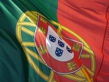 chorągwiany Portugal Zdjęcie Stock
