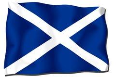 chorągwiany Scotland Zdjęcia Royalty Free