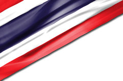 chorągwiany tajlandzki falowanie Obrazy Stock