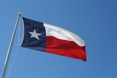chorągwiany Texas Fotografia Royalty Free