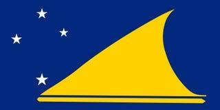 chor?gwiany Tokelau royalty ilustracja