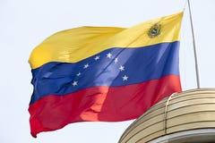 Chorągwiany Venezuela Fotografia Royalty Free