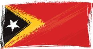 chorągwiany wschodu grunge Timor Obrazy Royalty Free