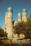 Chor-minderårig Madrassah, Bukhara Arkivfoton