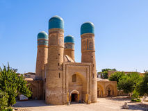 Chor-minderårig Madrassah, Bukhara, Uzbekistan Unesco-världsarv royaltyfri foto