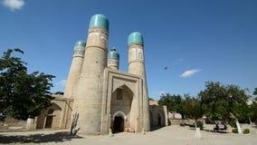 Chor-Minderjähriger bukhara uzbekistan stock video