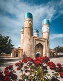 Chor-Minderjähriger oder Madrasah von Khalif Niyaz-kul Bukhara, Usbekistan stockfotos