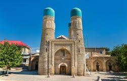 Chor Minor, Four Minarets Madrasah in Bukhara, Uzbekistan. Stock Images