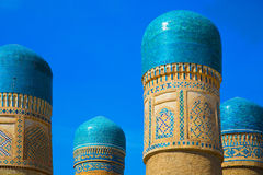 Chor Minor madrasah in Bukhara Stock Images