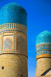 Chor Minor madrasah in Bukhara Royalty Free Stock Images