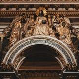 Chor St. Isaac Cathedral lizenzfreies stockfoto
