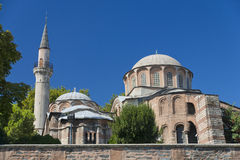 Chora church. Back view of Chora Church, Istanbul, Turkey Stock Photography