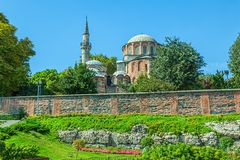 Chora Church, Istanbul. Chora Church is the most beautiful Byzantine church after Hagia Sophia. The church is situated in Edirnekapi neighborhood of Istanbul Royalty Free Stock Photography