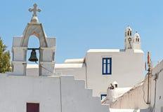 Chora da ilha Grécia de Mykonos Foto de Stock Royalty Free