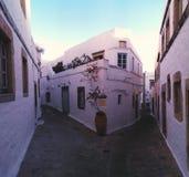 Chora di Patmos Fotografia Stock