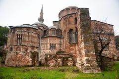 chora Istanbul muzeum indyk Zdjęcie Royalty Free