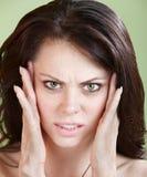 Chora Kobieta Obrazy Stock