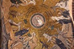 CHORA, la iglesia o el museo, interior de Kariye del edificio es ensenada Imagen de archivo