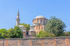 Chora Museum - Church in Istanbul Stock Photos