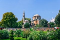 Chora Museum - Church in Istanbul Stock Image
