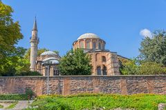 Chora Museum - Church in Istanbul Royalty Free Stock Images