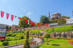 Chora Museum - Church in Istanbul Stock Images