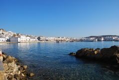 Chora of Mykonos Stock Photo