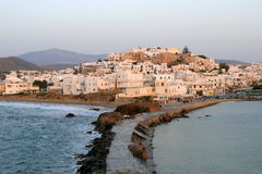 Chora in Naxos Island Royalty Free Stock Image