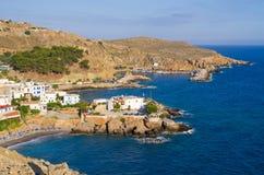 Chora Sfakion on Crete island - Greece Royalty Free Stock Images
