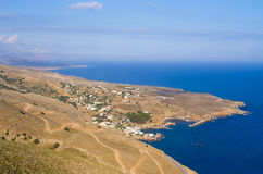 Chora Sfakion on Crete island - Greece Royalty Free Stock Photography