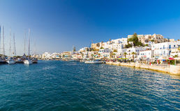 Chora town, Naxos island, Cyclades, Aegean, Greece Stock Images