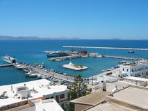 Chora town Naxos Island Cyclades Greece Royalty Free Stock Photo