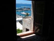 Chora town Naxos Island Cyclades Greece Stock Photos