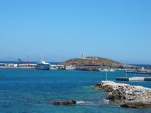 Chora town Naxos Island Cyclades Greece Royalty Free Stock Photos