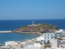 Chora town Naxos Island Cyclades Greece Stock Image