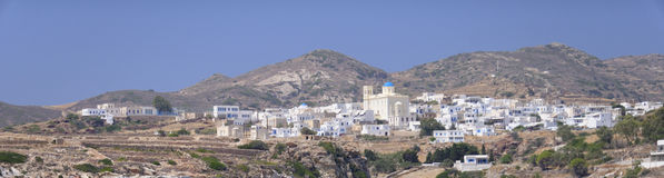 Chora village in Greece Stock Photo
