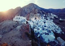Chora Village Serifos Stock Images