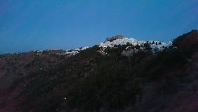 Chora von Patmos Stockbilder