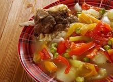 Chorba búlgaro tradicional da sopa Imagem de Stock