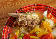 Chorba búlgaro tradicional da sopa Fotos de Stock Royalty Free