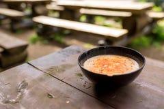 Chorba búlgaro tradicional de Shkembe da sopa Fotos de Stock Royalty Free