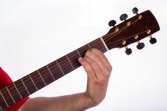 A chord, LA maggiore Stock Image
