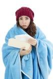Chorej kobiety czuciowy zimno zdjęcie stock