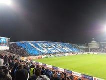 Choreo de APOEL FC fotografía de archivo