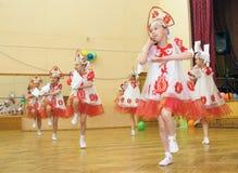 Choreographic ensemble Royalty Free Stock Photos